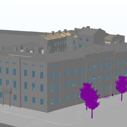 BIM пилотный проект здания прокуратуры